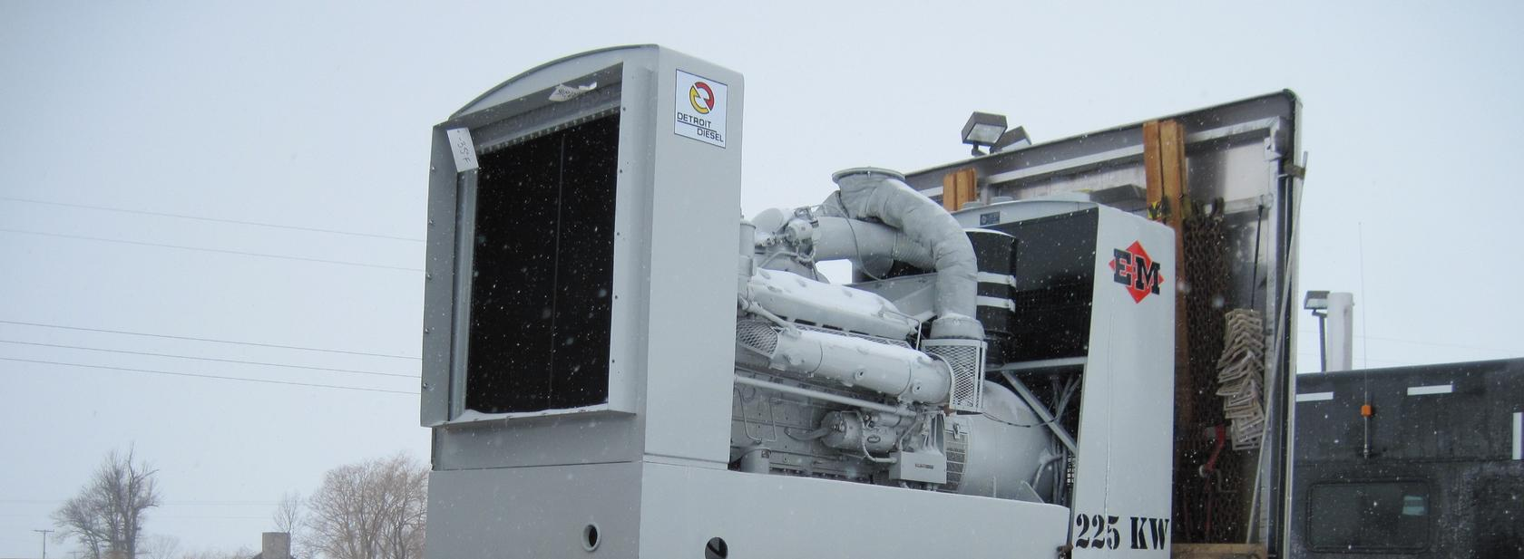 Military and Commercial Generators for sale!