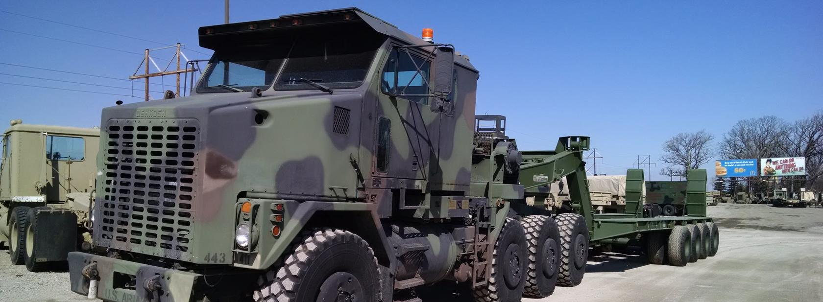 Oshkosh & AM General Military Trucks