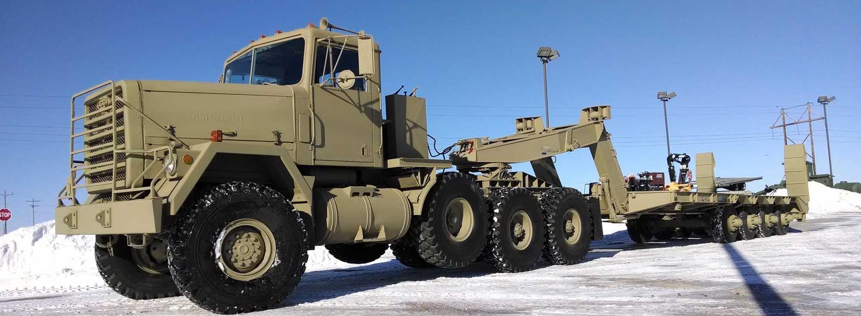 Oshkosh and AM General Military Trucks