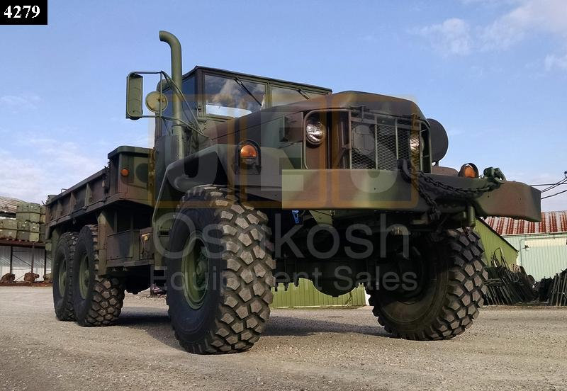 M813A1 6x6 Military Cargo Truck With Winch (C-200-67) - Rebuilt/Reconditioned