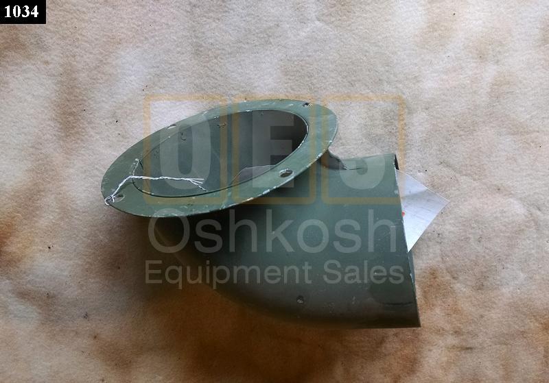 Air Duct Elbow From Winterization Kit - Oshkosh Equipment