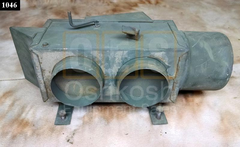 Air Diverter Assembly From Winterization kit - Used Serviceable