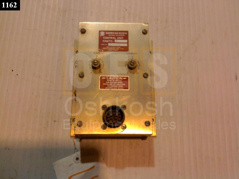 Electronic Speed Control Unit / Governor - Used Serviceable