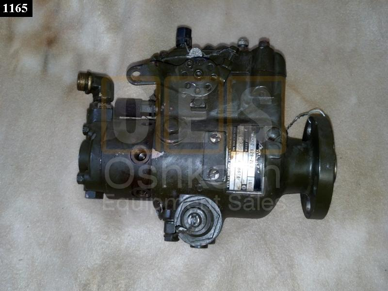 Stanadyne Roosa Master Fuel Injection Pump (Re-Built) - Used Repairable