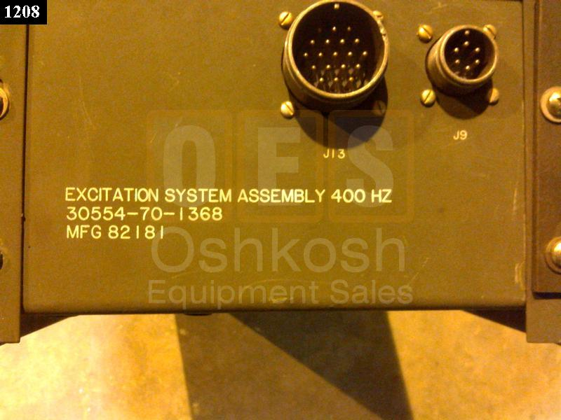 VOLTAGE REGULATOR / STATIC EXCITER 60KW (High Cycle) - Used Serviceable
