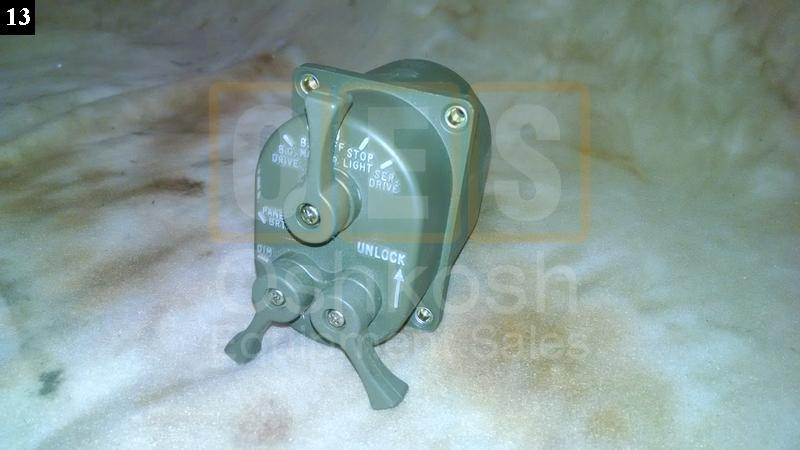 Three Lever Headlight Switch - New Replacement