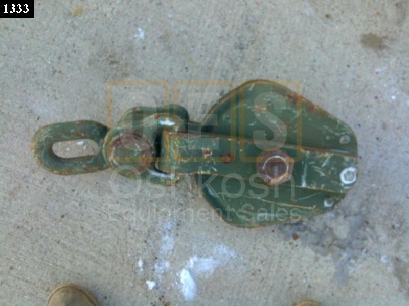 15 Ton Cable Pulley Snatch Block (3/4