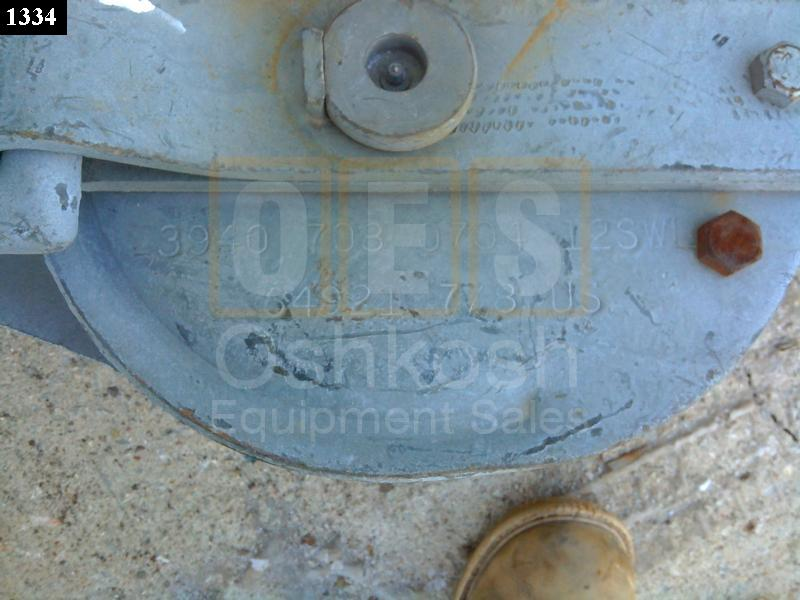 25 Ton Cable Dual Pulley Snatch Block (7/8 inch Cable) - Used Serviceable
