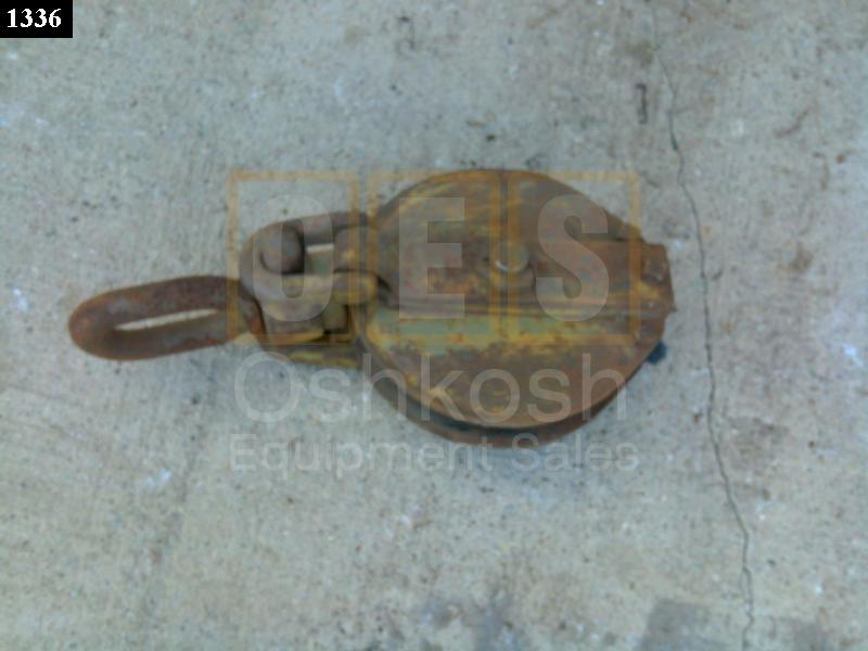 Cable Pulley Snatch Block - Used Serviceable