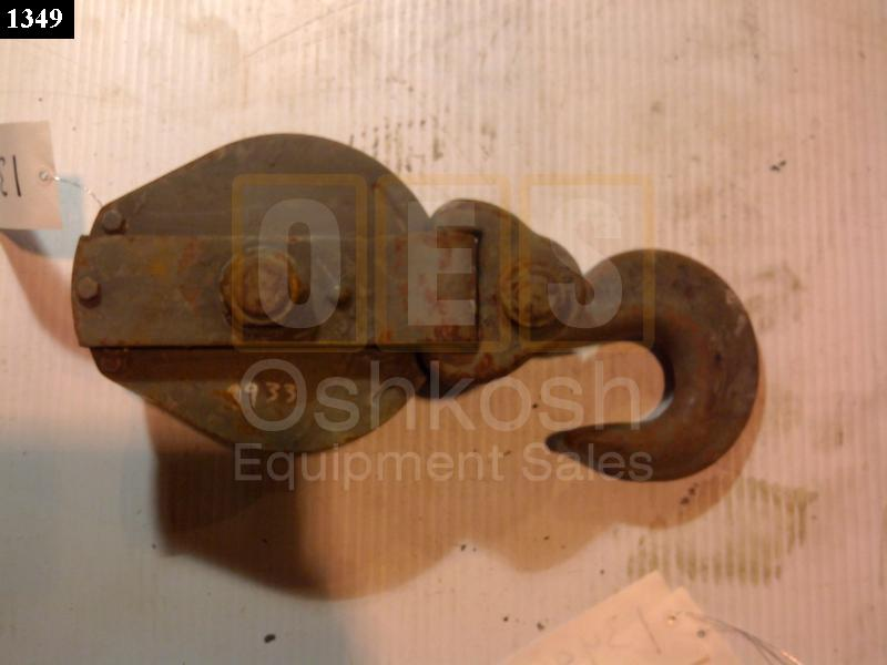 10 Ton Cable Pulley Snatch Block (5/8