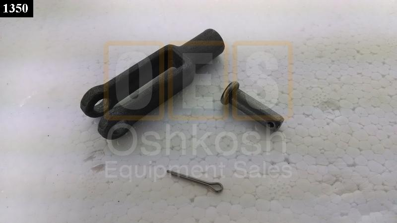 Winch Control Cable Rod End Clevis Yoke (Shifter End) - New Replacement