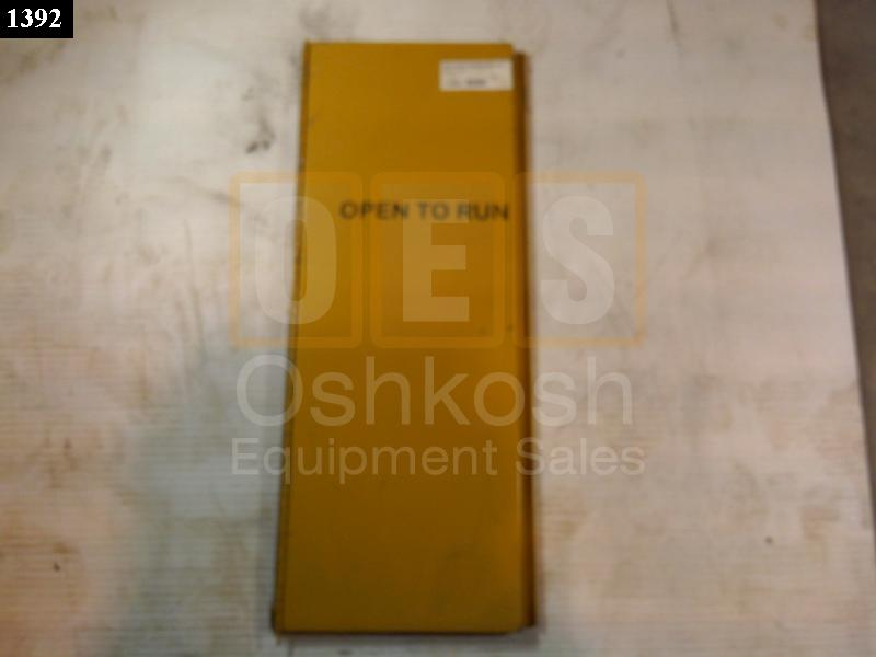 Generator Cooling Access Door LH - Used Serviceable
