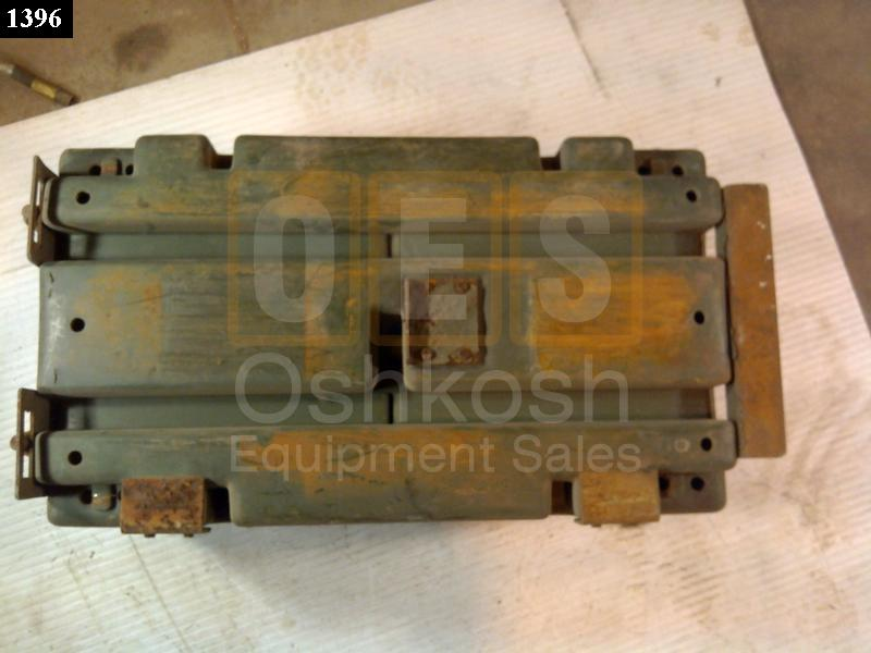 Steel Battery Box - Used Serviceable
