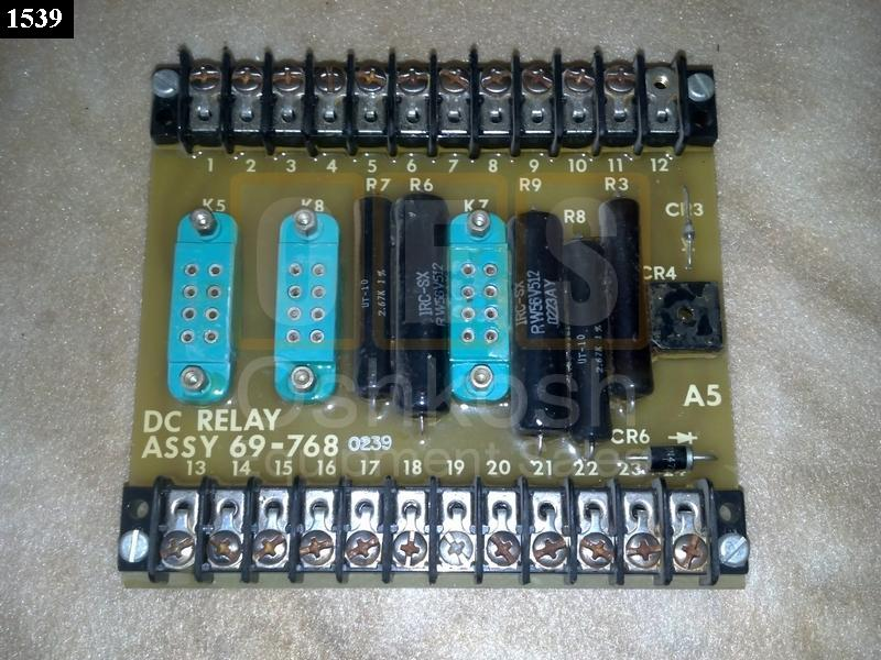 DC Relay Circuit Board - Used Serviceable