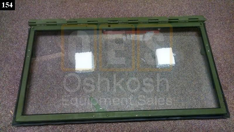 Driver Side Windshield Frame With Glass (Left) - New Replacement