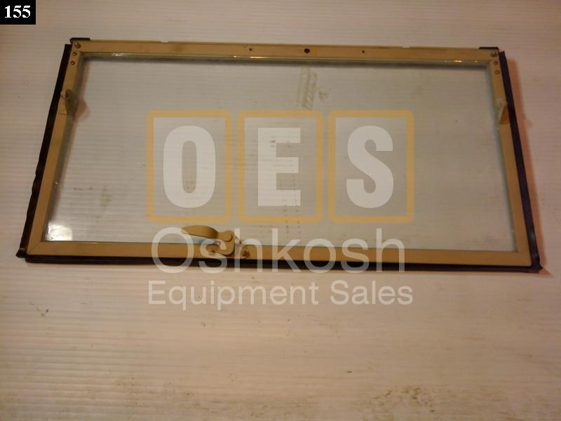 Windshield Frame With Glass (Right) Passenger Side - New Replacement