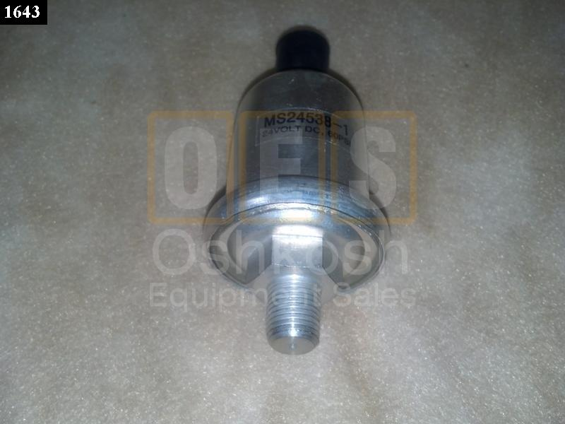 Oil Pressure Sending Unit (60PSI) - New Replacement