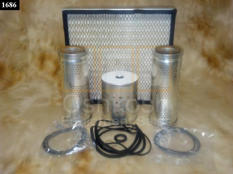 Filter Kit for 15KW and 30KW Diesel Generator - New Replacement