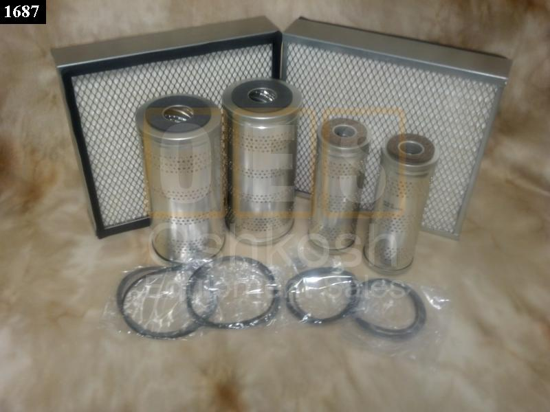 FILTER KIT FOR 60KW DIESEL GENERATOR - New Replacement