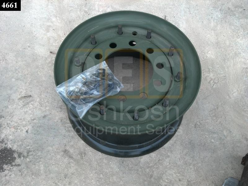 2-Piece Combat Wheel W/ Valve Stem - Used Serviceable