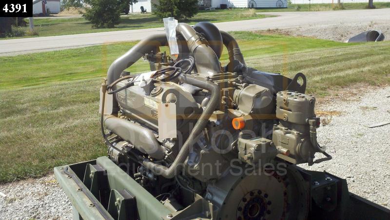 8V92TA Detroit Diesel Engine TURBO NOT INCLUDED - Oshkosh