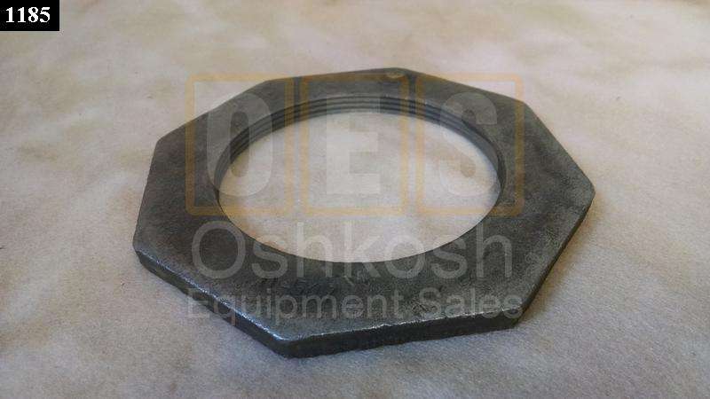 Wheel Bearing Retaining Lock Nut and Leaf Spring Seat Nut - New Replacement