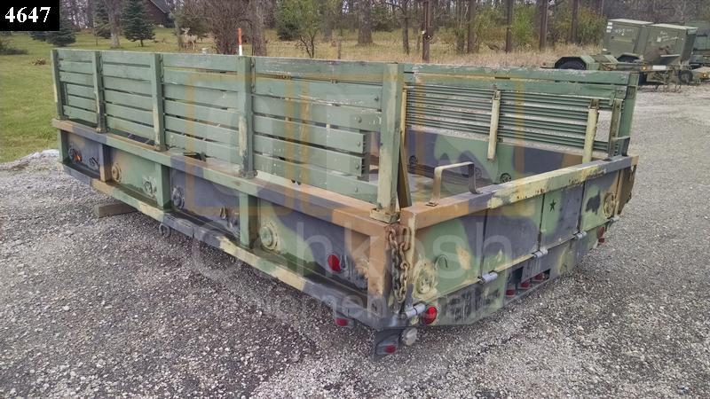 M35A3 Cargo Box with Troop seats - Oshkosh Equipment