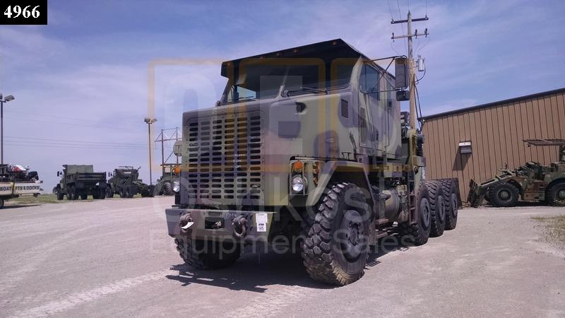 M1070 8x8 HET Military Heavy Haul Tractor Truck (TR-500-65) - Used Serviceable