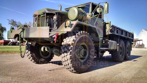 M813A1 6x6 Military Cargo Truck With Winch (C-200-77)