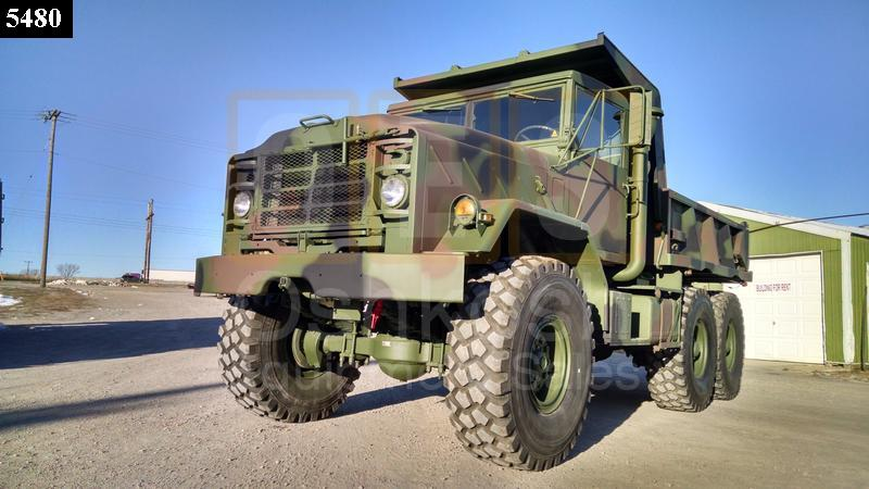 M929 6x6 Military Dump Truck (D-300-89) - Rebuilt/Reconditioned