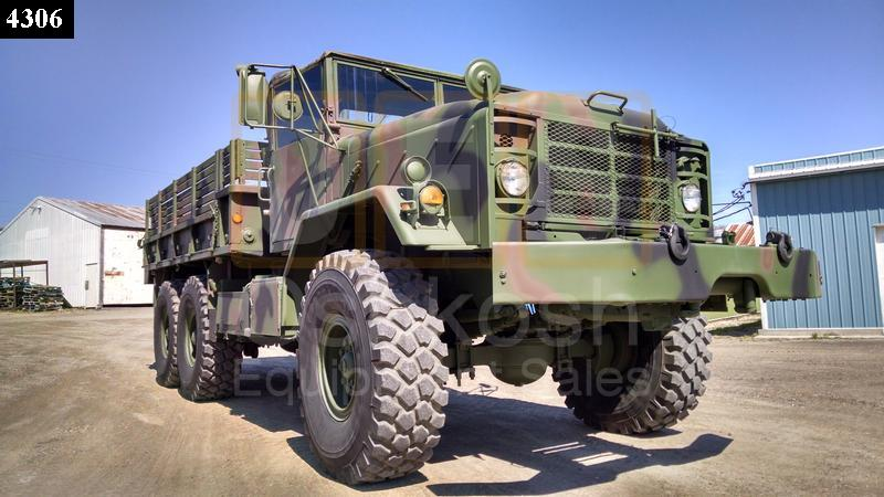 M925 6X6 Cargo Truck with Winch (C-200-82) - Rebuilt/Reconditioned