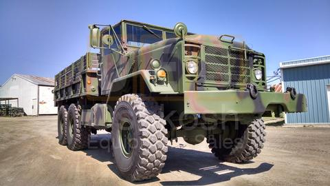M925 6X6 Cargo Truck with Winch (C-200-82)
