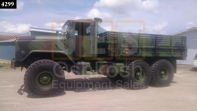 M923  6X6 Military 5 Ton Cargo Truck for sale (C-200-88) - Rebuilt/Reconditioned