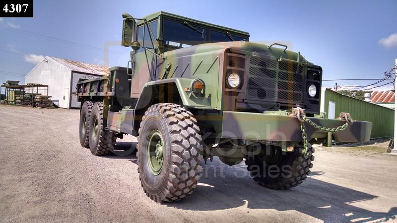 M925 6X6 Cargo Truck with Winch (C-200-57) - Rebuilt/Reconditioned