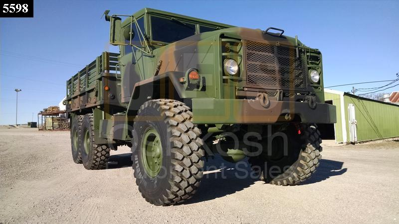 M923 6x6 Military 5 Ton Cargo Truck (C-200-109) - Oshkosh