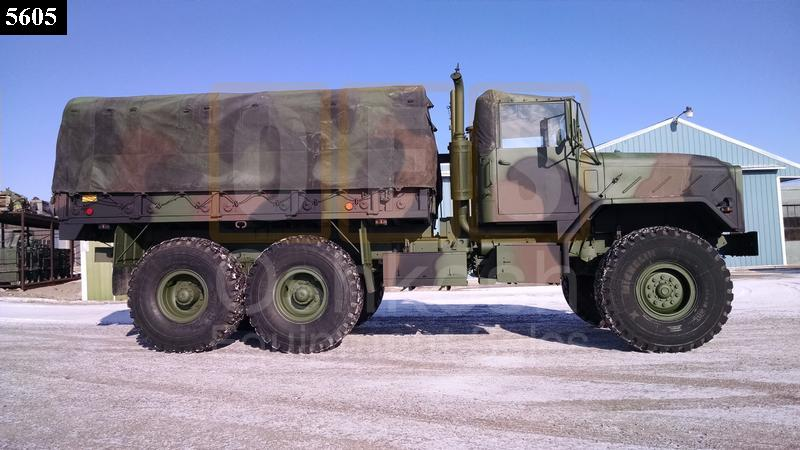 M923A1 5 Ton 6x6 Military Cargo Truck (C-200-115) - Rebuilt/Reconditioned