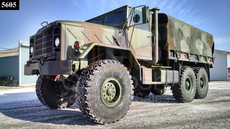 M923A1 5 Ton 6x6 Military Cargo Truck (C-200-115) - New Replacement