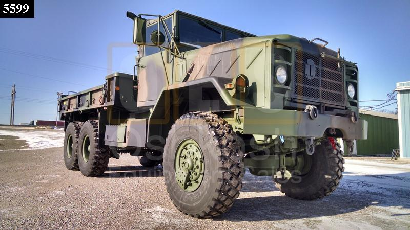 M923A2 5 Ton 6x6 Military Cargo Truck (C-200-111) - Rebuilt/Reconditioned
