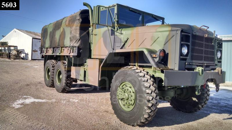 M923A2 5 Ton 6x6 Military Cargo Truck (C-200-113) - Rebuilt/Reconditioned