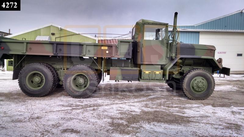 M813A1 6x6 5 Ton Military Cargo Truck for Sale (C-200-46) - Rebuilt/Reconditioned