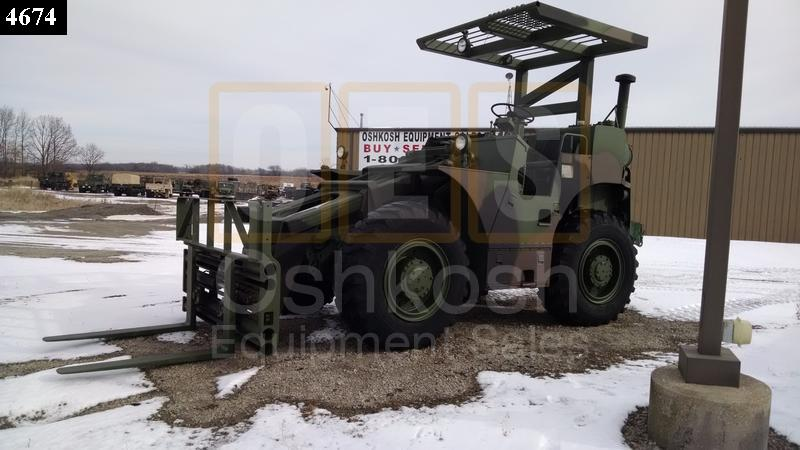 6K Rough Terrain Military Forklift (F-900-14) - Rebuilt/Reconditioned