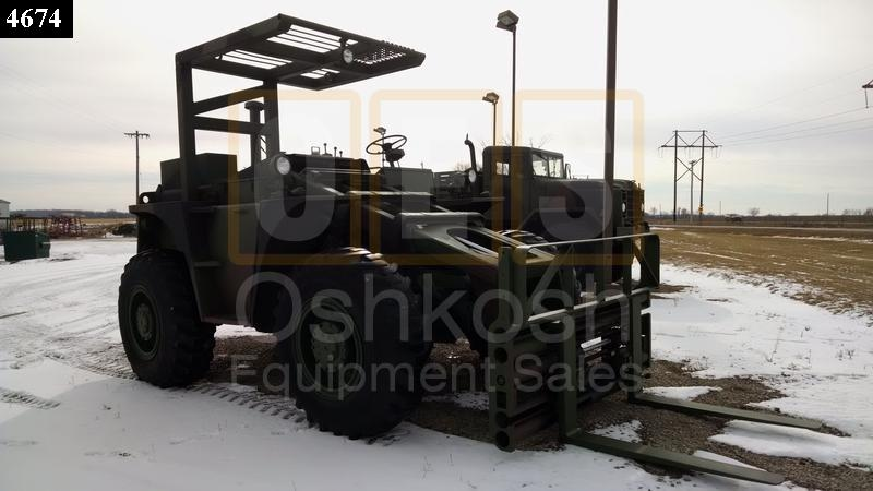 6K Rough Terrain Military Forklift (F-900-14) - New Replacement