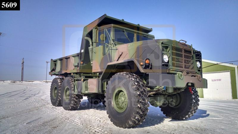 M929 Military 6X6 Dump Truck (D-300-92) - Rebuilt/Reconditioned