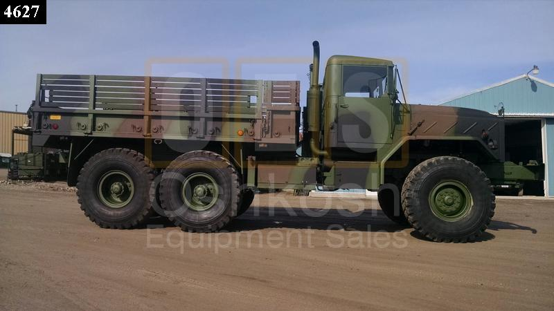 M925 6X6 Military 5 Ton Cargo Truck with Winch (C-200-84) - Rebuilt/Reconditioned