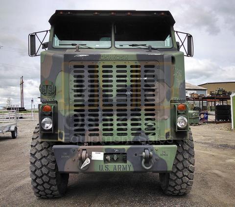 M1070 8x8 HET Military Heavy Haul Tractor Truck (TR-500-59)