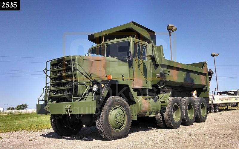 General At Tires >> M917 20 Ton 8x6 Military Dump Truck (D-300-80) - Oshkosh Equipment