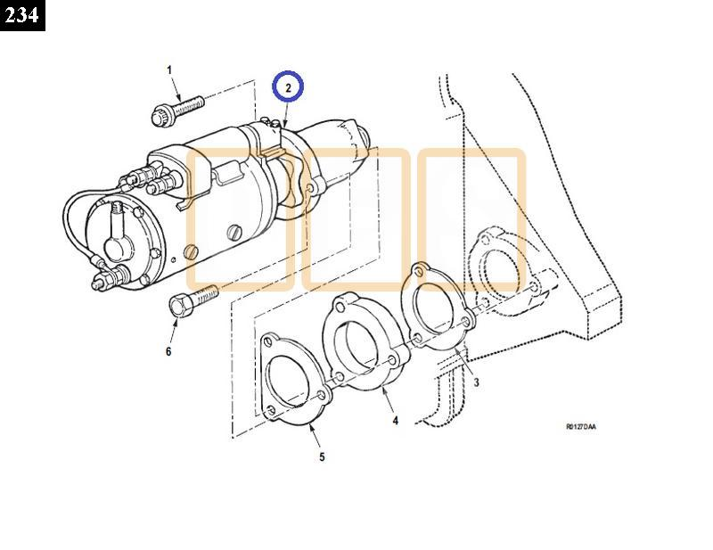 Starter Motor, Engine - New Replacement