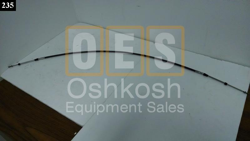 Transmission PTO Engage Control Cable - Oshkosh Equipment