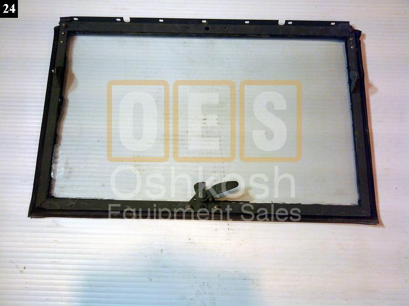 Windshield Frame with Glass - New Replacement