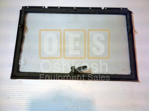 Windshield Frame with Glass